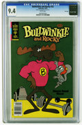 Bronze Age (1970-1979):Cartoon Character, Bullwinkle #23 File Copy (Gold Key, 1979) CGC NM 9.4 White pages.Overstreet 2005 NM- 9.2 value = $18. CGC census 2/06: 1 in...