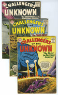 Silver Age (1956-1969):Adventure, Challengers of the Unknown #9-12 Group (DC, 1959-60) Condition: Average VG. Includes #9, 10, 11, and 12. Covers and art by B... (Total: 4 Comic Books)
