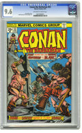 Bronze Age (1970-1979):Miscellaneous, Conan the Barbarian #53 (Marvel, 1975) CGC NM+ 9.6 Off-white towhite pages. Gil Kane and John Romita Sr. cover. John Buscem...
