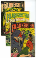 Golden Age (1938-1955):Horror, Frankenstein Comics Group (Prize, 1953-54) Condition: AverageGD/VG. Includes #25, 26, and 33 (last issue). Covers by Dick B...(Total: 3 Comic Books)