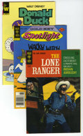 Bronze Age (1970-1979):Western, Lone Ranger and Others Group (Gold Key/Whitman, 1968-84) Condition: Average VF/NM. Short box filled with Lone Ranger and...