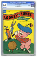 Golden Age (1938-1955):Cartoon Character, Looney Tunes and Merrie Melodies Comics #138 File Copy (Dell, 1953)CGC VF/NM 9.0 Off-white pages. Overstreet 2005 VF/NM 9.0...
