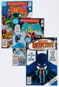 Modern Age (1980-Present):Superhero, Detective Comics Group of 9 (DC, 1977-88) Condition: Average NM....(Total: 9 Comic Books)