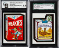 Non-Sport Cards:Singles (Post-1950), 1967 Topps Wacky Packages Non-Die Cut Proofs Pair (2). ...