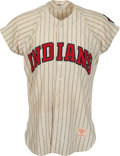 Baseball Collectibles:Uniforms, 1958 Billy Moran Game Worn Cleveland Indians Rookie Jersey....