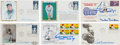 Baseball Collectibles:Others, 1980's Baseball Stars Signed First Day Covers Lot of 6....