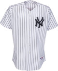 Baseball Collectibles:Uniforms, 2010 Alex Rodriguez Game Worn New York Yankees Spring Training Jersey. ...