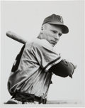 Baseball Collectibles:Photos, 1948 Richie Ashburn Original Photograph Used for Bowman Rookie,PSA/DNA Type 1....