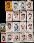 Baseball Cards:Lots, 1909 - 1911 Baseball Cards and Silks Baseball Collection (18). ...