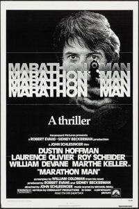 """Marathon Man & Other Lot (Paramount, 1976). One Sheets (2) (27"""" X 41"""") Flat Folded. Thriller. ... (Total:..."""