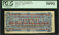 Confederate Notes:1864 Issues, T67 $20 Ad Note 1864.. ...
