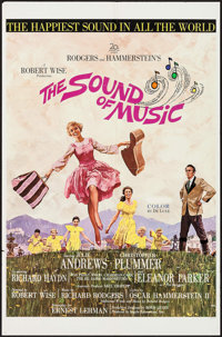 "The Sound of Music (20th Century Fox, 1965). International One Sheet (27"" X 41""). Academy Award Winners"