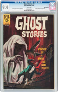 Silver Age (1956-1969):Horror, Ghost Stories #9 White Mountain Pedigree (Dell, 1965) CGC NM 9.4White pages....
