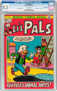 Li'l Pals #1 White Mountain Pedigree (Marvel, 1972) CGC VF+ 8.5 White pages