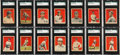 Baseball Cards:Sets, 1914 (& 1915) Cracker Jack SGC Graded Collection (32) With Wagner and Johnson. ...