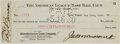 Baseball Collectibles:Others, 1930 Tony Lazzeri Signed New York Yankees Payroll Check. ...