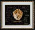 Baseball Collectibles:Photos, 2000's Gold Glove Winners Multi Signed Photograph with 45Signatures. ...