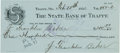 "Baseball Collectibles:Others, 1922 Frank ""Home Run"" Baker Twice Signed Check. ..."