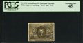Fractional Currency:Second Issue, Fr. 1290 25¢ Second Issue PCGS Extremely Fine 45.. ...