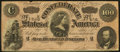 Confederate Notes:1864 Issues, T65 $100 1864 PF-1.. ...