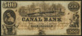Obsoletes By State:Louisiana, New Orleans, LA- New Orleans Canal & Banking Company $500 18__ Remainder. ...
