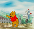 Animation Art:Production Cel, Winnie the Pooh Production Cel Setup (Walt Disney, c. 1980s)....