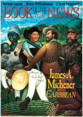 Autographs:Authors, James A. Michener Book of the Month Club News MagazineSigned. ...