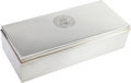 Political:Presidential Relics, John F. Kennedy : Oval Office Silver Cigarette Box by Tiffany.... (Total: 2 Items)