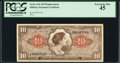 Military Payment Certificates:Series 641, Series 641 $10 Replacement PCGS Extremely Fine 45.. ...