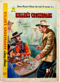 Original Comic Art:Covers, Killer's Crossroads Cover Original Art (All Star Western,1953). ...