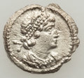 Ancients:Roman Imperial, Ancients: Anonymous (ca. AD 330). AR third siliqua or scripulum(0.63 gm)....