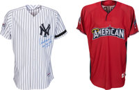 2010 Alex Rodriguez All-Star Game Worn Uniform, Batting Practice Jersey, Shoes & Batting Gloves