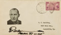 Autographs:Celebrities, Robert Ripley Signed Envelope. ...