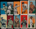 Baseball Cards:Sets, 1910 E93 Standard Caramel Partial Set (10). ...