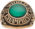 Baseball Collectibles:Others, 1973 Oakland Athletics World Series Championship Ring....