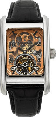 "Audemars Piguet Very Fine Platinum ""Edward Piguet"" Skeleton Tourbillon Model 25947PT"