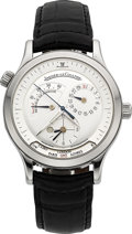 Timepieces:Wristwatch, Jaeger LeCoultre Master Control 1000 Geographic Steel Wristwatch. ...