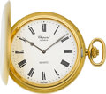 Timepieces:Pocket (post 1900), Chopard Gent's 18k Gold Pocket Watch. ...