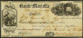Obsoletes By State:Ohio, Marietta, OH- Bank of Marietta $107.23 Check Jan. 12, 1847. ...