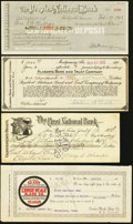 Miscellaneous:Other, AL, MO, TN, and TX Banking Paper 1913-33.. ... (Total: 4 items)