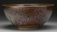 Harding Black (American, 1912-2004) Monumental Bowl, 1955 Stoneware with chun glaze 7 inches high