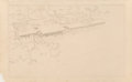 Prints:American, Frank Lloyd Wright (American, 1867-1959). Cottage for ElizabethStone, Glencoe, Illinois, 1910. Lithograph on paper. 15-...