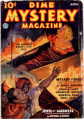 Pulps:Horror, Dime Mystery Magazine Group of 9 (Popular, 1934-39) Condition:Average VG.... (Total: 9 Items)