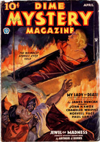Dime Mystery Magazine Group of 9 (Popular, 1934-39) Condition: Average VG.... (Total: 9 Items)