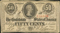 Confederate Notes:1863 Issues, T63 50 Cents 1863 PF-3.. ...