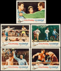 "Movie Posters:Elvis Presley, Kid Galahad (United Artists, 1962). Lobby Cards (5) (11"" X 14"").Elvis Presley.. ... (Total: 5 Items)"