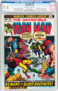 Bronze Age (1970-1979):Superhero, Iron Man #55 (Marvel, 1973) CGC NM 9.4 Off-white to white pages....