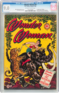 Golden Age (1938-1955):Superhero, Wonder Woman #9 (DC, 1944) CGC VF/NM 9.0 Off-white to white pages....