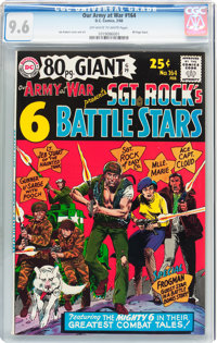 Our Army at War #164 (DC, 1966) CGC NM+ 9.6 Off-white to white pages