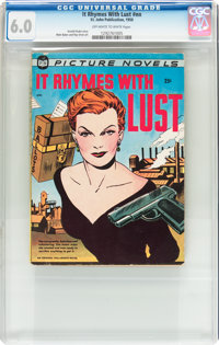It Rhymes With Lust #nn (St. John, 1950) CGC FN 6.0 Off-white to white pages